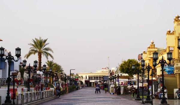 Die Na'ama Bay in Sharm El Sheikh